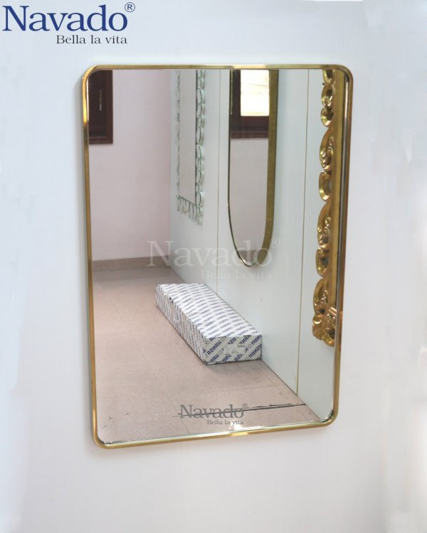 The Neoclassical Sunflower Living Room Mirror