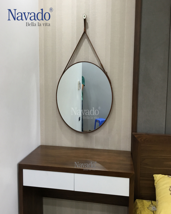 Lacos Gold Living Room Mirror