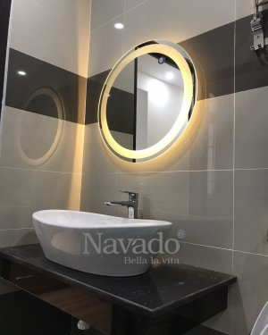 The High-end Led Circle Mirror