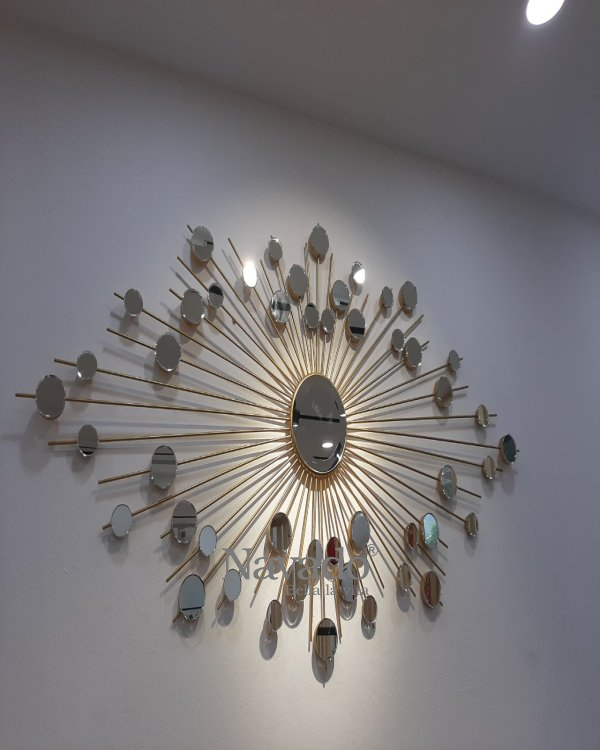 """THE LUXURY HANGING WALL MIRROR ART """" THE EYES """""""