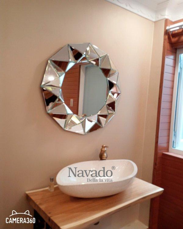 Crystal High-class Bedroom Makeup Mirror