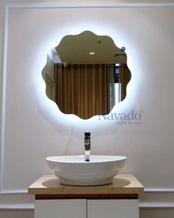 Navado Living Room Neoclassical Decoration Mirror