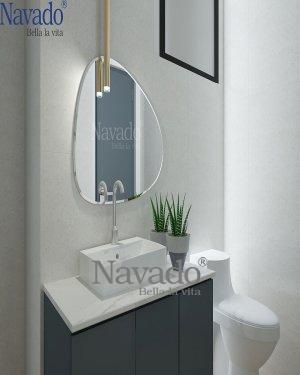 109C Art Bathroom Mirror