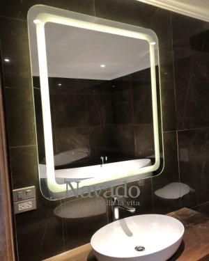 Led Rectangular Bathroom Mirror