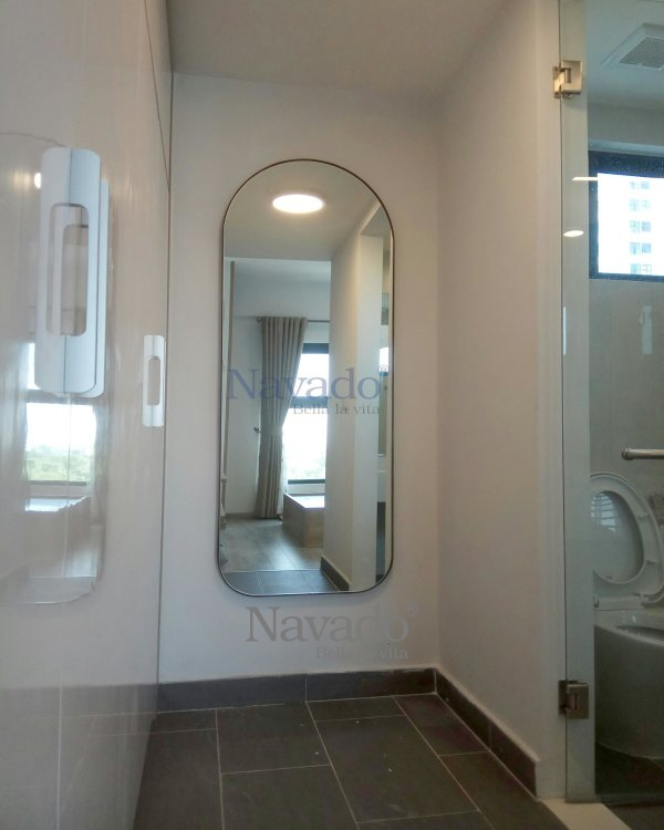 Rectangular Full-body Bathroom Mirror