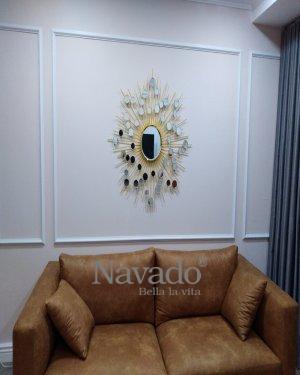 Hebes Hanging Living Room Mirror