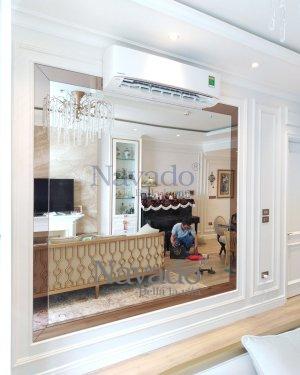 Luxury mirror decorate living room Navdo