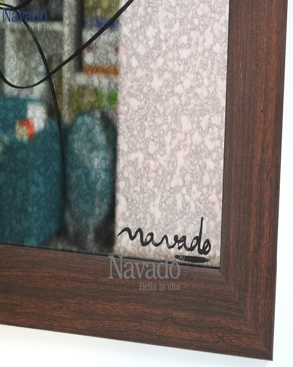 DECOR WALL MOUNTED PAINTS MIRROR