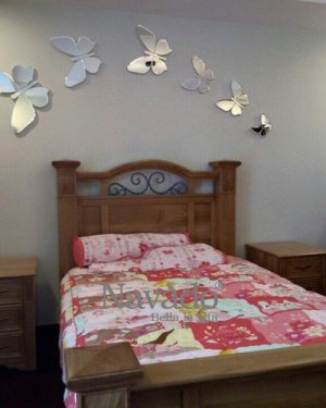 MIRROR DECOR BUTTERFLY ART