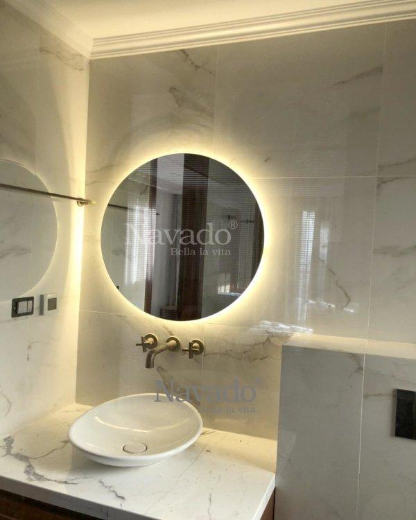 BATHROOM LED MIRROR D80CM