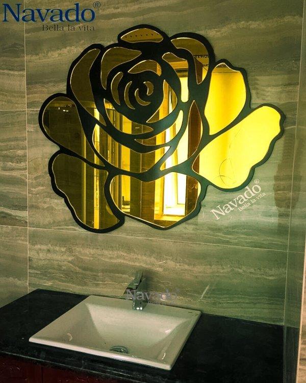 BATHROOM DECORATIVE BATHROOM ROSE GOLD
