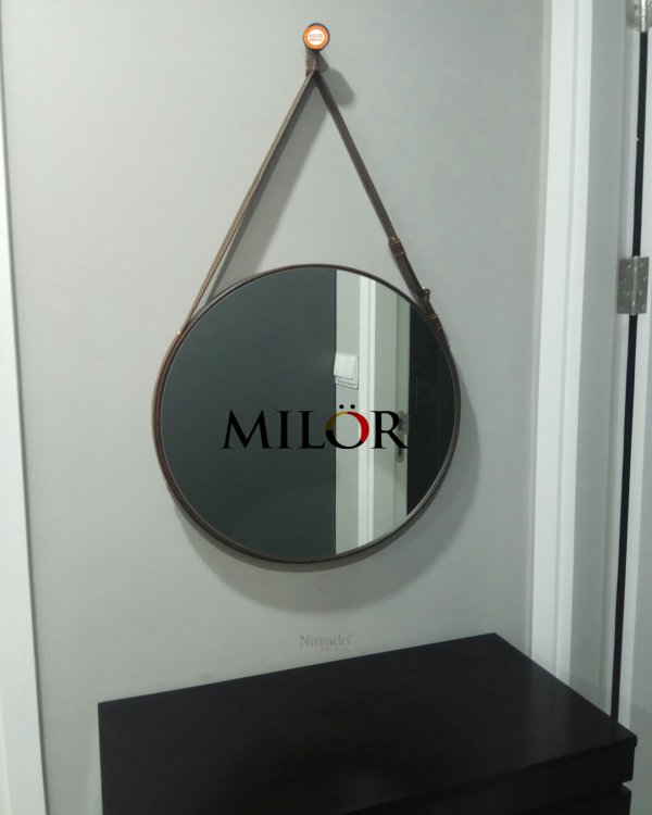 BATHROOM MIRROR LEATHER CORD 50CM