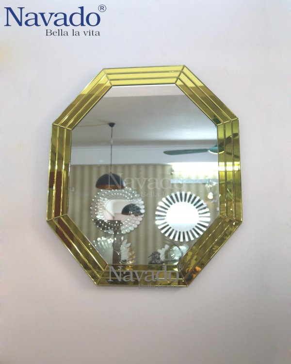 DECORATE MIRROR- PISA GOLD