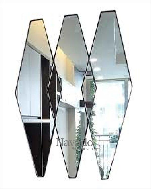 Mimoza living room decorative mirror