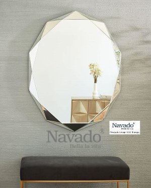 Phale makeup hanging mirror