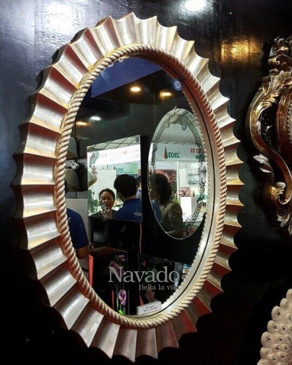 Art Poseidon Mirror Art