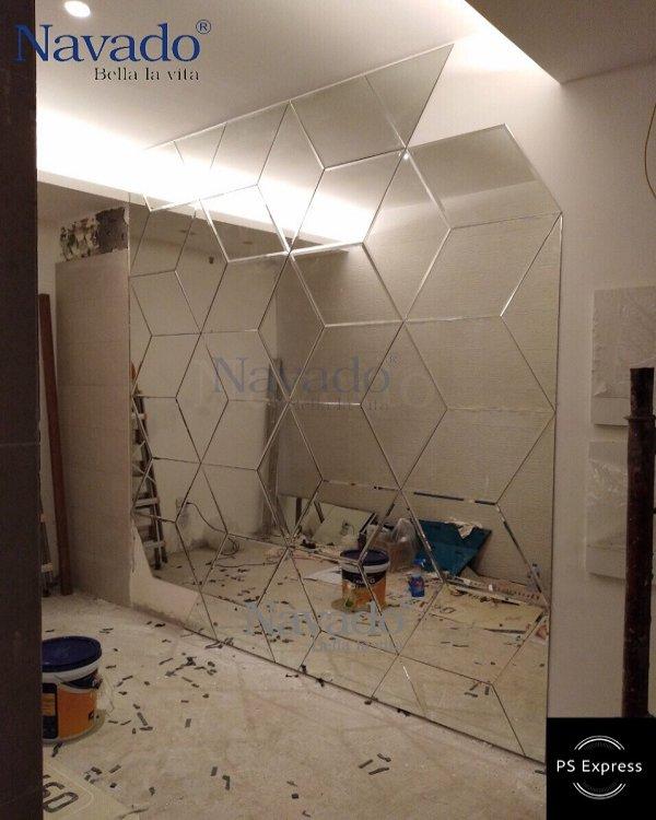 Mirror wall art 3D
