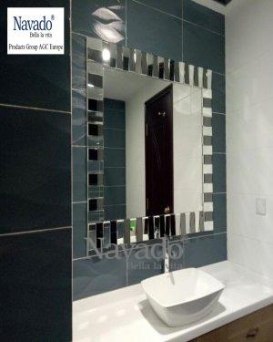 Bathroom art mirror mystery big