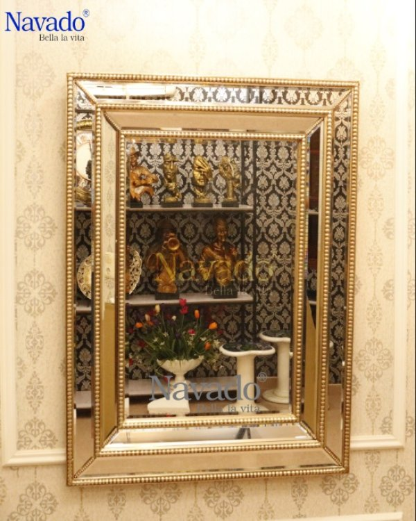 Moirai living room mirror hanging