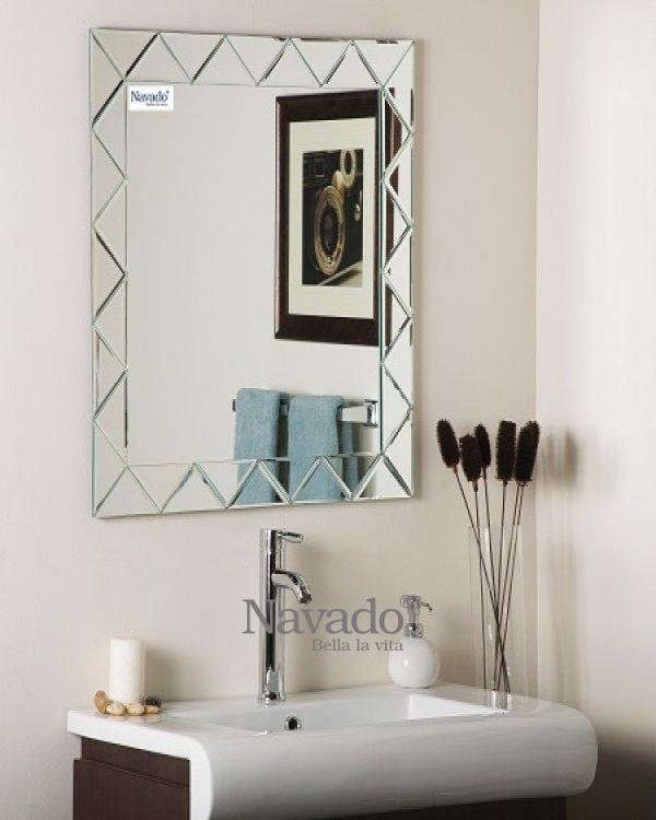 Bathroom mirror art NAV910