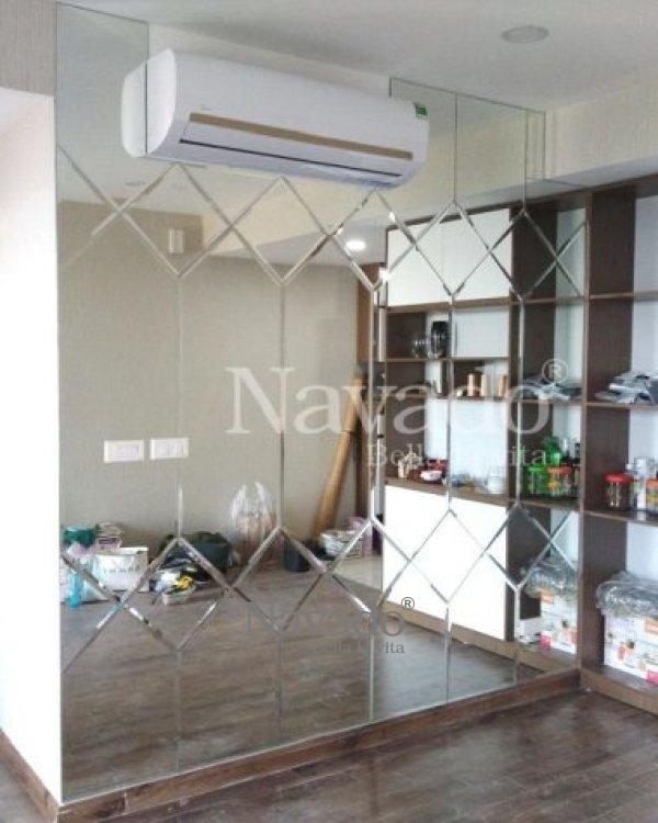 Mirror living room decoration