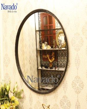 Round mirror bathroom Optima 70cm