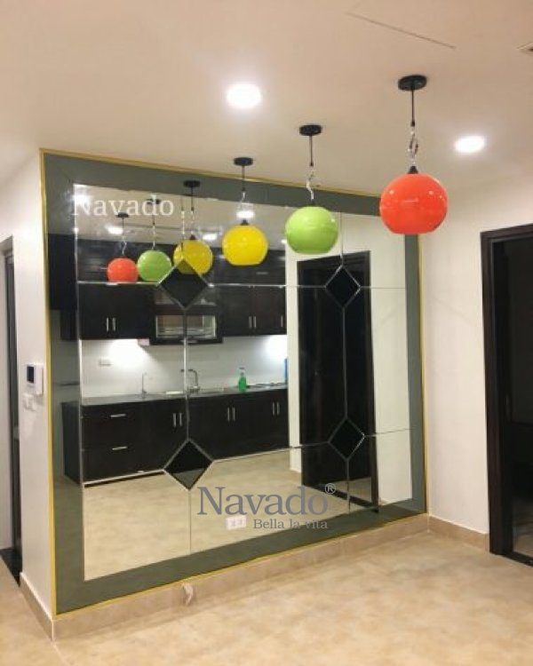 Modern decorative composite mirror