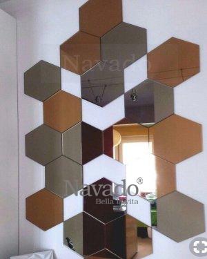 Unique wall art mirror