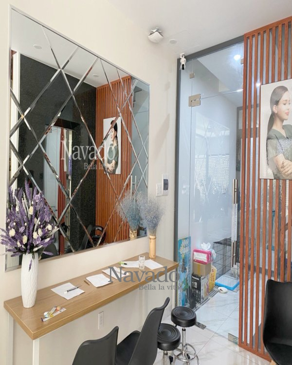 MODERN ART WALL DESIGN MIRROR FOR DECORATE HOUSE