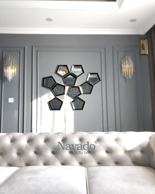 LUXURY ART DESIGN DECORATE MIRROR