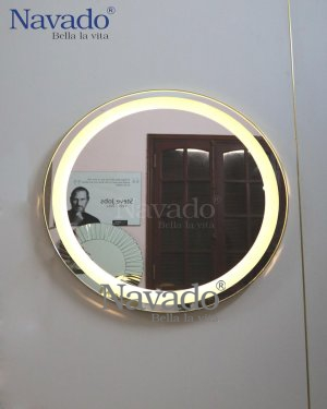 MIRROR FRAME INOX LED LIGHT