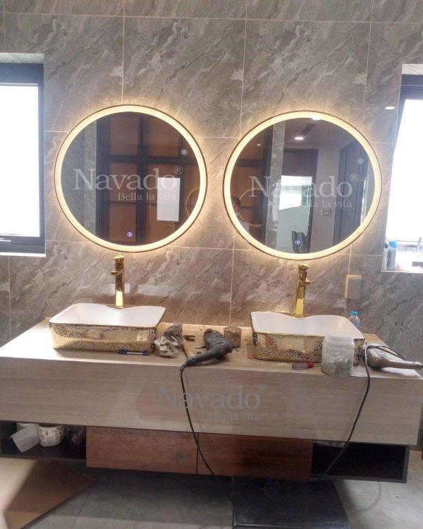 BATHROOM LED BATH LAMP D80CM MIRROR
