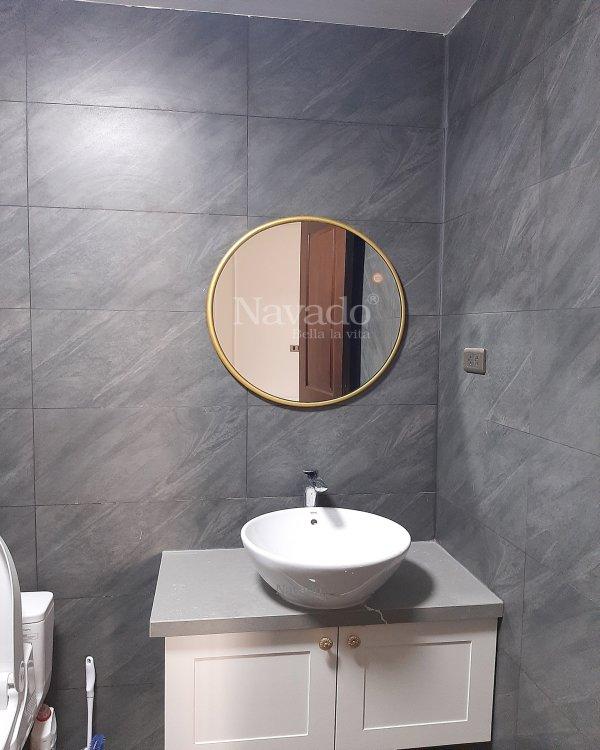 ORAS GLOD FRAME BATHROOM MIRROR