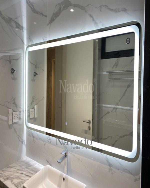 LARGE LED-WALL DECORATE BATHROOM