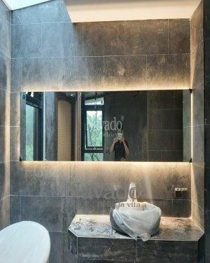 LONG SIZE LED RECTNAGLE BATHROOM MIRROR