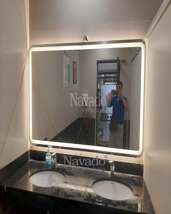 DECORATE MODERN LED BATROOM MIRROR