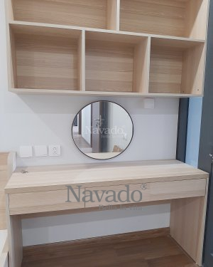 ROUND MAKEUP MIRROR WALL BEDROO LUXURY