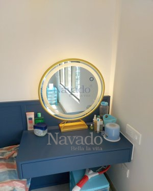 LUXURY GOLD TABLE MAKEUP MIRROR