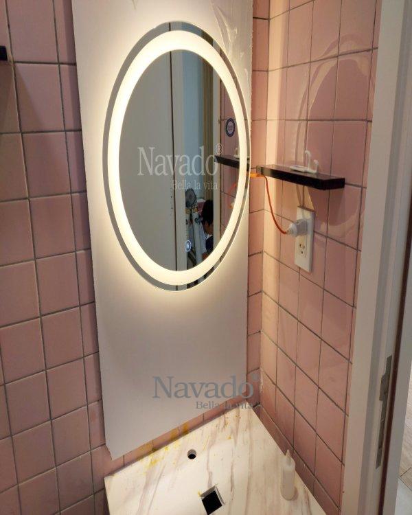 WALL DECOR DECOR LED BATHROOM MIRROR