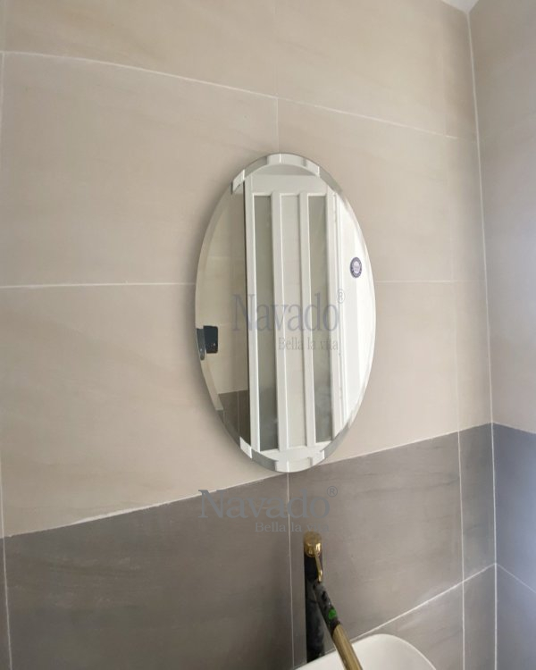 ROUND MODERN DECOR BATHROOM MIRROR