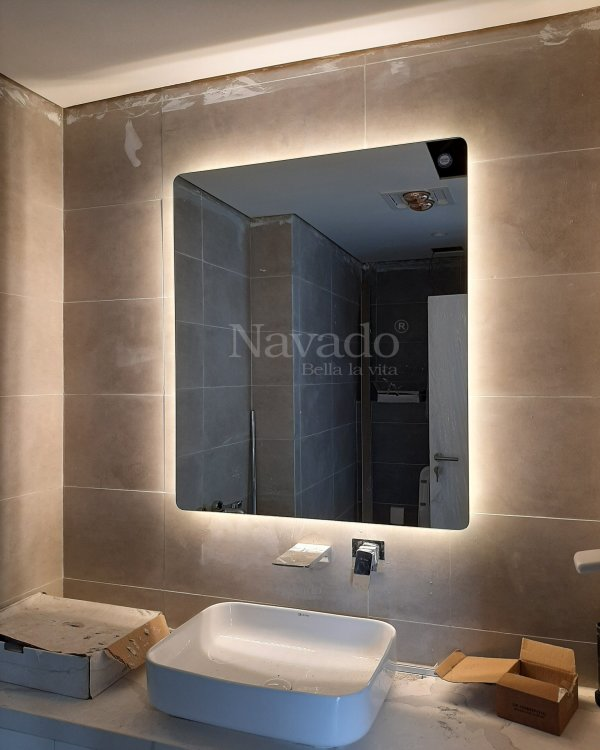 MODERN LED BATHROOM MIRROR WALL LIVING ROOM