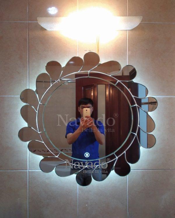 ART LED DECOR MIRROR WALL BATHROOM