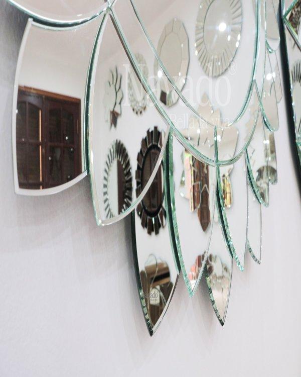 ART SUNFLOWER DECOR BATHROOM MIRROR