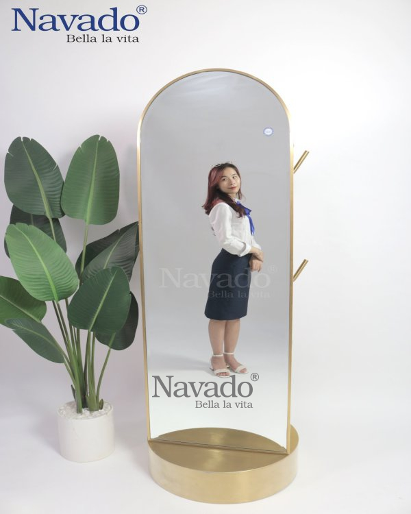 CONVENIENTLY DESIGNED FULL BODY MIRROR 2 IN1
