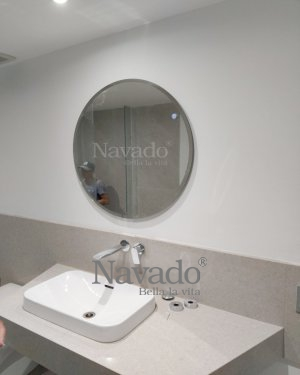 BATHROOM ROUND BASIC MIRROR