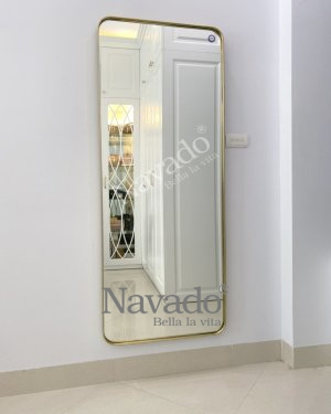 FULL BODY MIRROR DECOR FOR HOUSE WITH GOLD FRAME