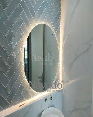 MODERN LED ROUND DECOR BATHROOOM