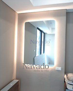 MODERN BATHROOM LED RECTANGLE MIRROR