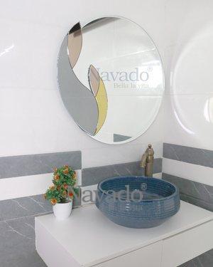 ART ALUNA WALL DECOR BATHROOM MIRROR