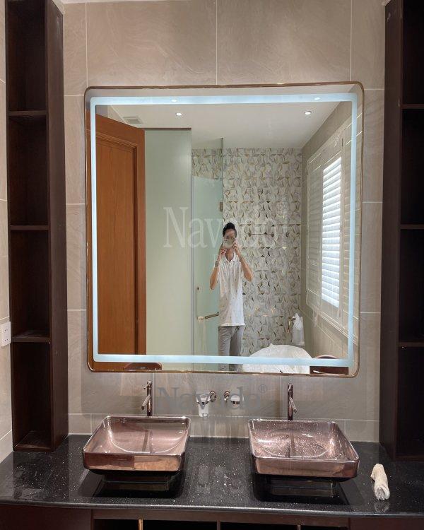 BATHROOM WALL MODERN LED MIRROR